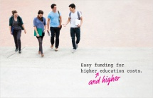 Easy funding for higher and higher education costs.