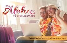 Say Aloha to Visa Rewards