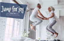 Jump for joy with a home loan