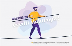Walking on a credit tightrope?
