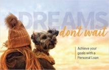 Dreams don't wait