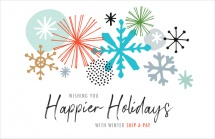 Wishing you happier holidays with winter skip-a-pay