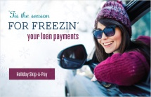 'Tis the season for freezin' your loan payments