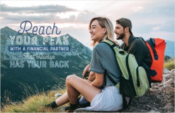 Reach your peak with a financial partner that has your back