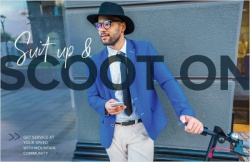 Suit up & scoot on