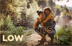 Keep payments low