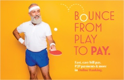 Bounce from play to pay.
