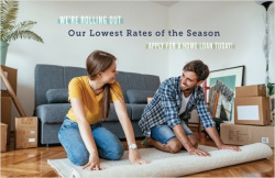 We're rolling out our lowest rates of the season