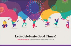 Let's celebrate good times!