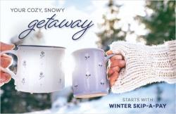 Your cozy, snowy getaway