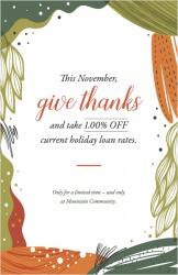 This November, give thanks