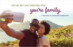 You're not just another face – you're family