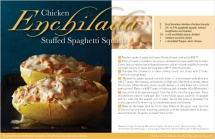 Chicken Enchilada Stuffed Spaghetti Squash