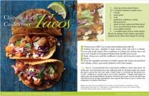 Chipotle-Lime Cauliflower Tacos