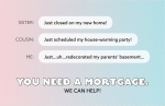 You Need a Mortgage. We Can Help!