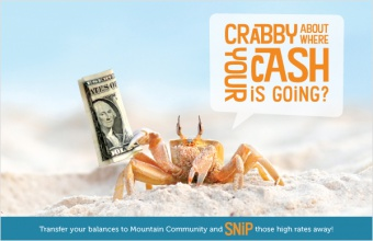 Crabby about where your cash is going?