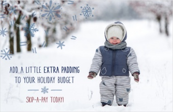 Add a little extra padding to your holiday budget