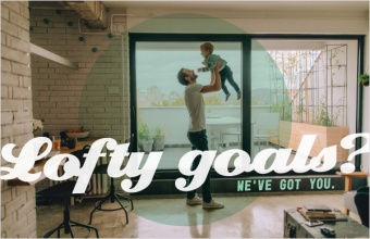 Lofty goals? We've got you.